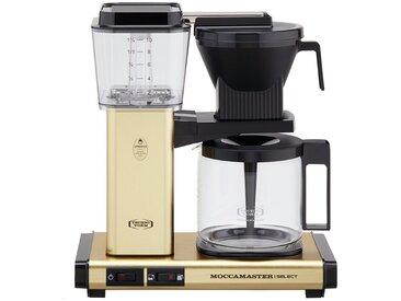 Moccamaster Kaffeautomat  KBG Select Brushed Brass ¦ gold ¦