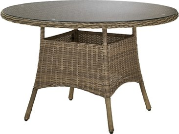 Basispreis* a casa mia Tisch  Florenz 2 ¦ braun ¦ Aluminium