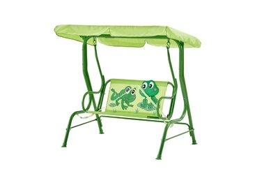 Kinderschaukel  Froggy ¦ grün ¦ Maße (cm): B: 108 H: 110