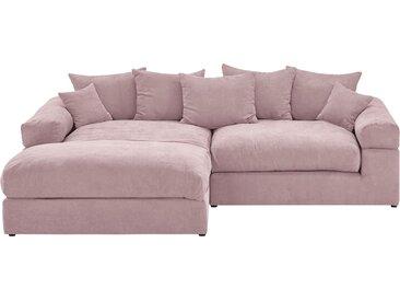 Basispreis* smart Ecksofa  Lionore ¦ rosa/pink ¦ Maße (cm): H: 86