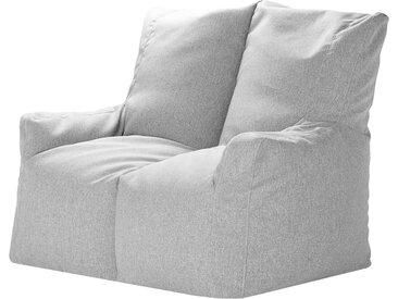 Basispreis* Sitzsack-Sofa  Lou ¦ grau