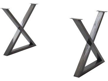 Basispreis* Woodford Tischgestell  Alabria ¦ Metall, gewischt