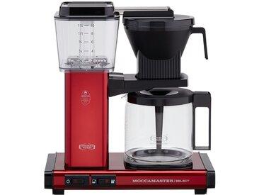 Moccamaster Kaffeautomat  KBG Select Red Metallic ¦ rot ¦