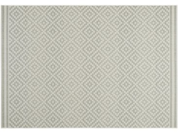 HOME STORY Outdoor-Teppich  Soft Ethno ¦ beige ¦ Synthethische