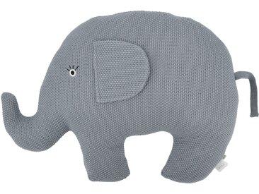 Basispreis* Kuscheltier  Little Elefant ¦ blau ¦ Füllung aus 100%