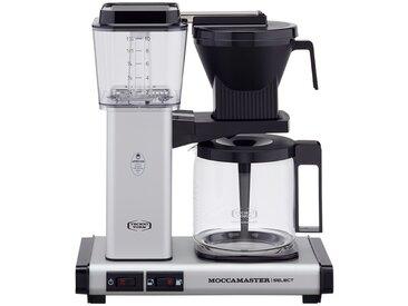 Moccamaster Kaffeautomat  KBG Select Matt Silver ¦ silber ¦