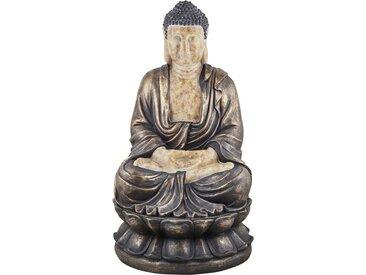 Basispreis* Teelichthalter  Buddha ¦ braun ¦ Magnesia