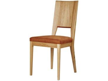 Basispreis* Wohnwert Holzstuhl gepolstert  Alvar ¦ orange ¦ Maße