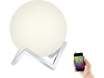 Q-Smart Home Lights Tischleuchte, Glas Kugel ¦ silberØ: [30.0]