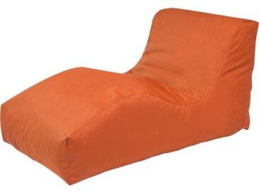 Outbag Sitzsack  Wave Plus ¦ orange ¦ Maße (cm): B: 70 H: 65 T: