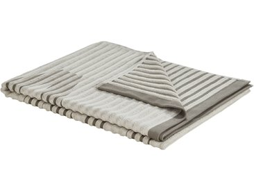 VOSSEN Saunatuch  Camden ¦ beige ¦ 80% Baumwolle, 20% Polyester