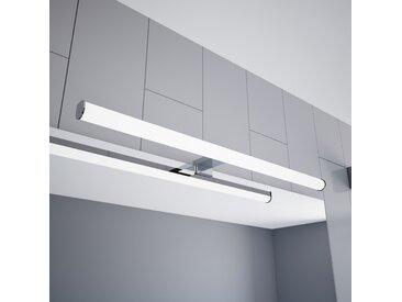 kalb | LED Spiegelleuchte 600mm Aufbauleuchte 230V Badezimmer Leuchte verchromt