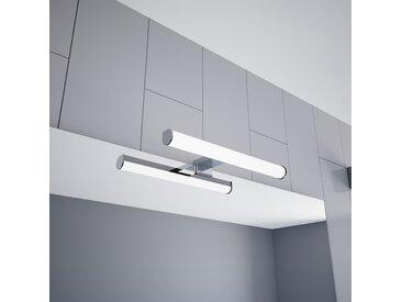 kalb | LED Spiegelleuchte 300mm Aufbauleuchte 230V Badezimmer Leuchte verchromt