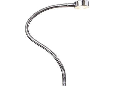 kalb | LED Bettleuchte Leseleuchte Bettlampe Flexleuchte chrom silbergrau Touch Schalt