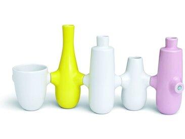 Kähler Fiducia Kerzenhalter & Vasen 5er-Set