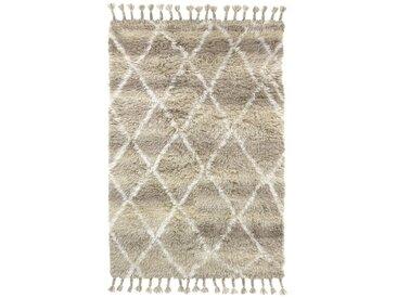 HK living Natural Shades Woolen Berber Teppich