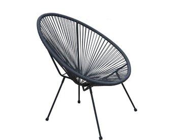 animal-design Lounge Sessel RETRO Gartenstuhl Relaxsessel Indoor / Outdoor