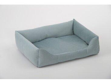 animal-design Kuschelsofa für Hunde und Katzen Hundebett Katzenbett Größe 2 blau rosa