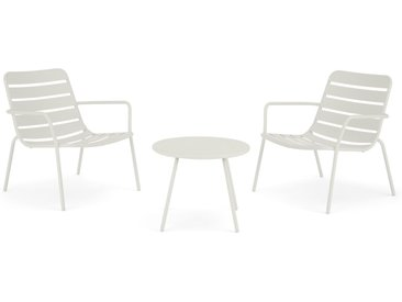MADE Essentials Tice Bistro-Set, Weiss