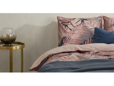 Jangala Bettwaescheset (155 x 220 cm) aus 100 % Baumwolle, Rosa