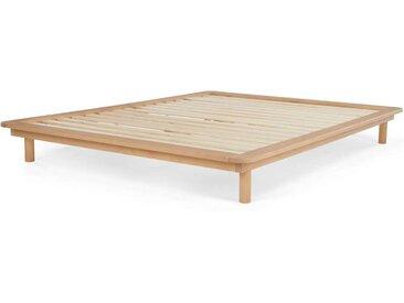 MADE Essentials Kano Holzbett (160 x 200 cm), Pinie