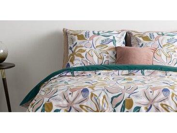 Flavia Bettwaescheset (135 x 200 cm) aus 100 % Baumwolle, Mehrfarbig