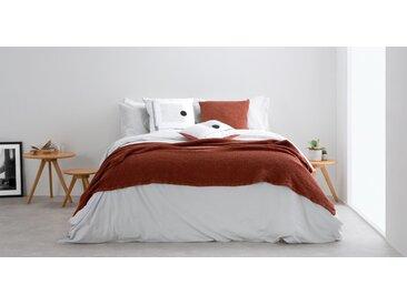 Grove Tagesdecke (150 x 200 cm) aus 100 % Baumwolle, Terracotta