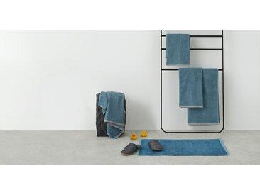 MADE Essentials Zyra 4 x Handtuecher, Schieferblau