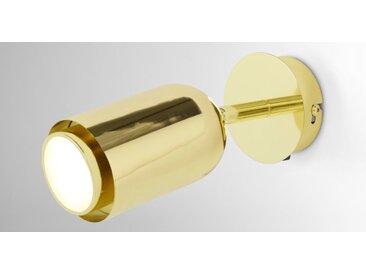 Korey LED-Wandleuchte, Messing