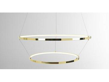 Evita LED-Pendelleuchte, Messing