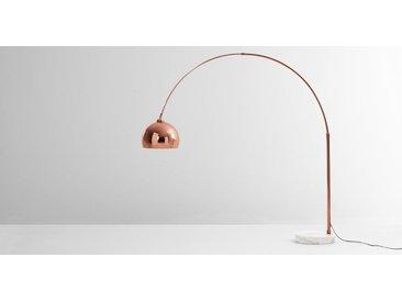 Bow Bogenlampe, Kupfer und Marmor