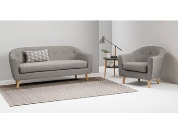 Lottie 3-Sitzer Sofa, Kalkgrau