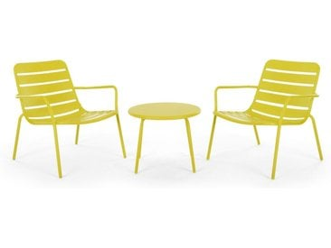 MADE Essentials Tice Lounge-Set, Chartreuse
