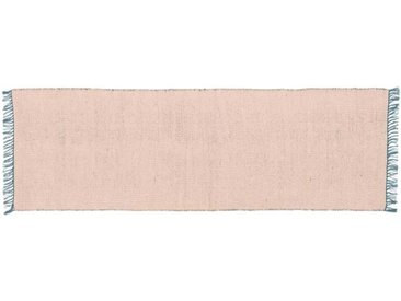 Seth Laeufer (66 x 200 cm), Blaugruen und Rosa