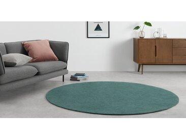 Jago runder Teppich (200 cm), Blaugruen