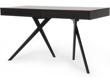 Darcey Schreibtisch mit Schubladen, dunkle Eiche