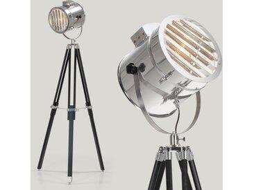 Alfred Tripod-Stehlampe, Schwarz