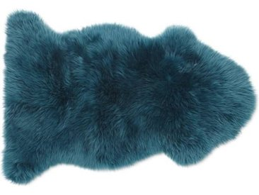 Helgar Schaffell (60 x 90 cm), dunkles Blaugruen