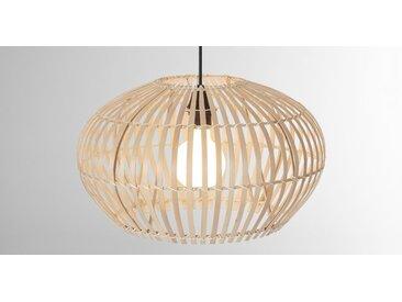 Hector grosser breiter Lampenschirm, Bambus