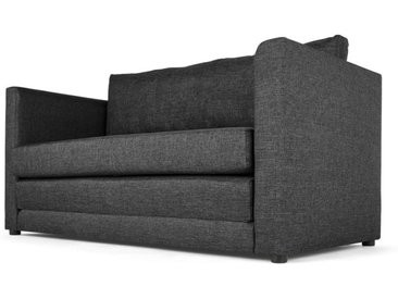 MADE Essentials Eli Futon Schlafsofa, Cygnetgrau