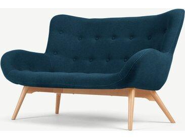 Doris 2-Sitzer Sofa, Shetlandblau