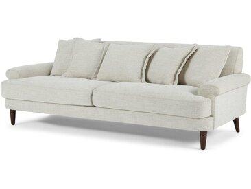 Eraldo 3-Sitzer Sofa, Kalkgrau
