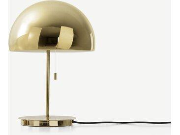 Collet Tischlampe, Messing