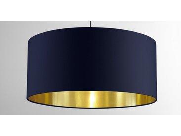 Oro Lampenschirm, Marineblau und Messing