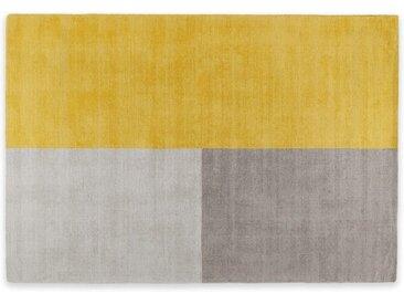 Elkan Teppich (160 x 230 cm), Senfgelb