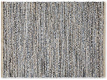 Jozua Teppich (160 x 230 cm), Indigoblau