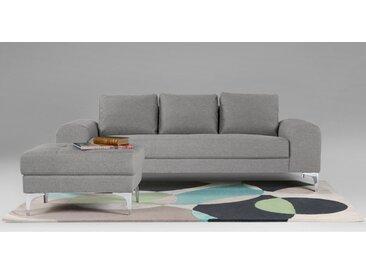 Vittorio 3-Sitzer Sofa, Perlgrau