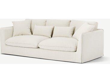 Kasiani 4-Sitzer Sofa, Cremeweiss