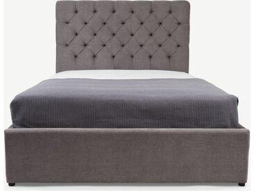 Skye Polsterbett mit Bettkasten (180 x 200 cm), Zinngrau