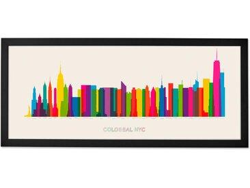 Colossal NYC, mit Rahmen
